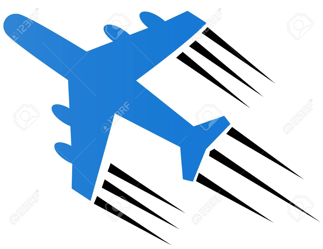 Airplane Icon Stock Vector - 17308136