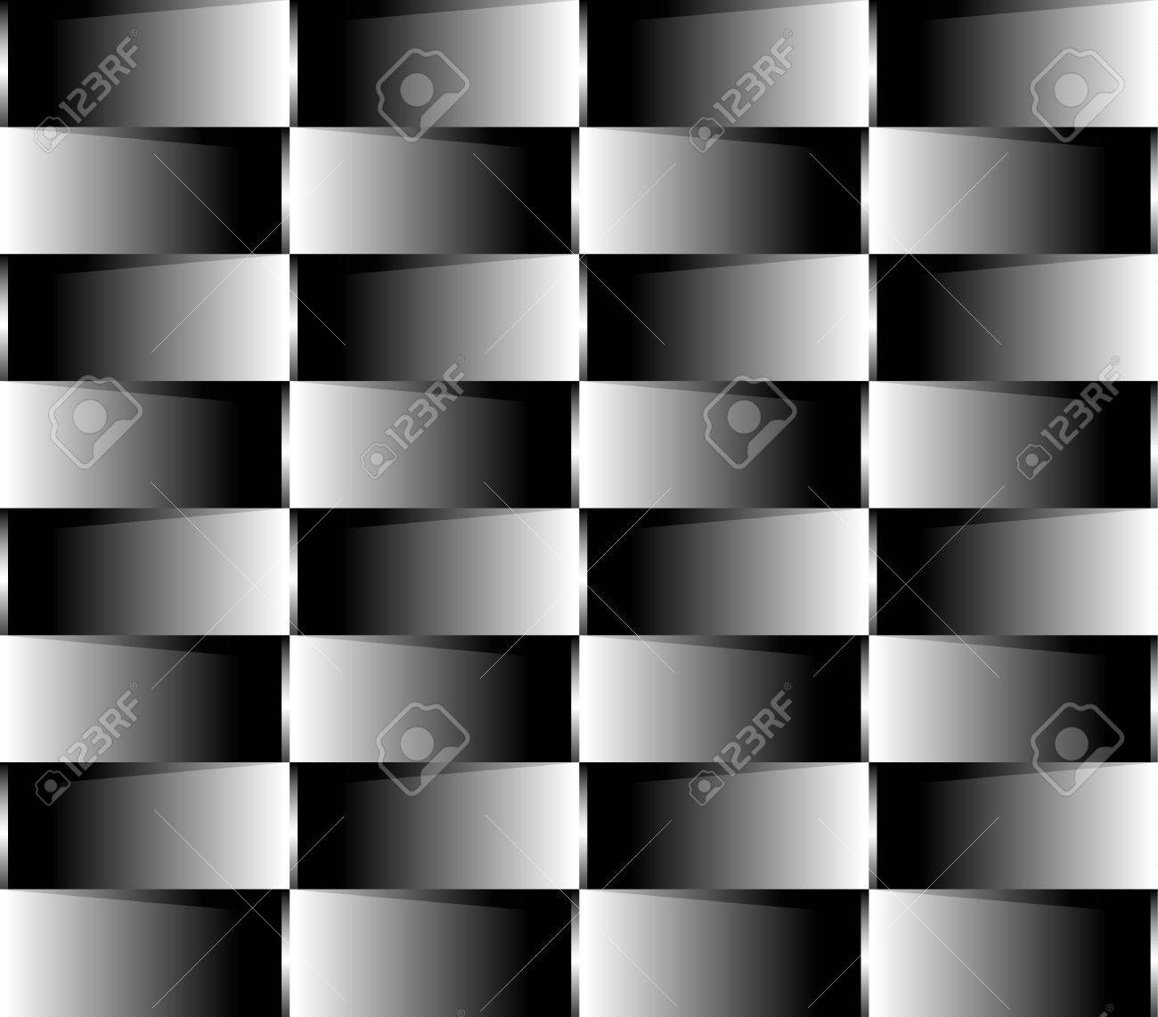 Parallel Squares Optical Illusion Stock Vector - 18546146