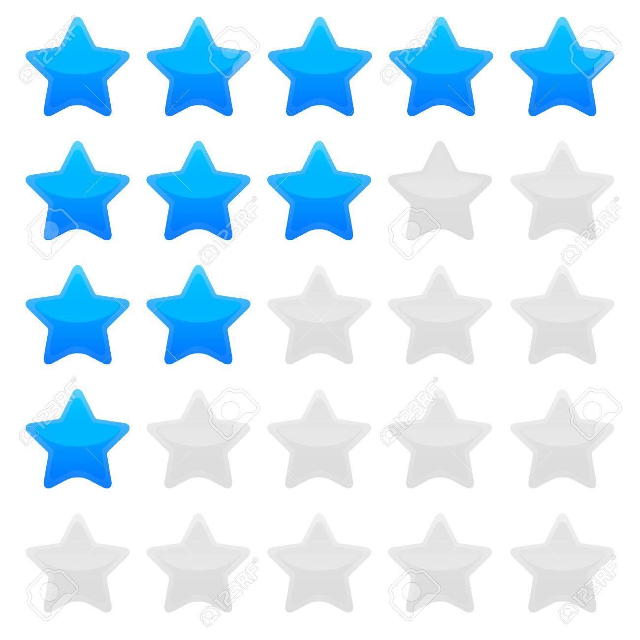 editable star template