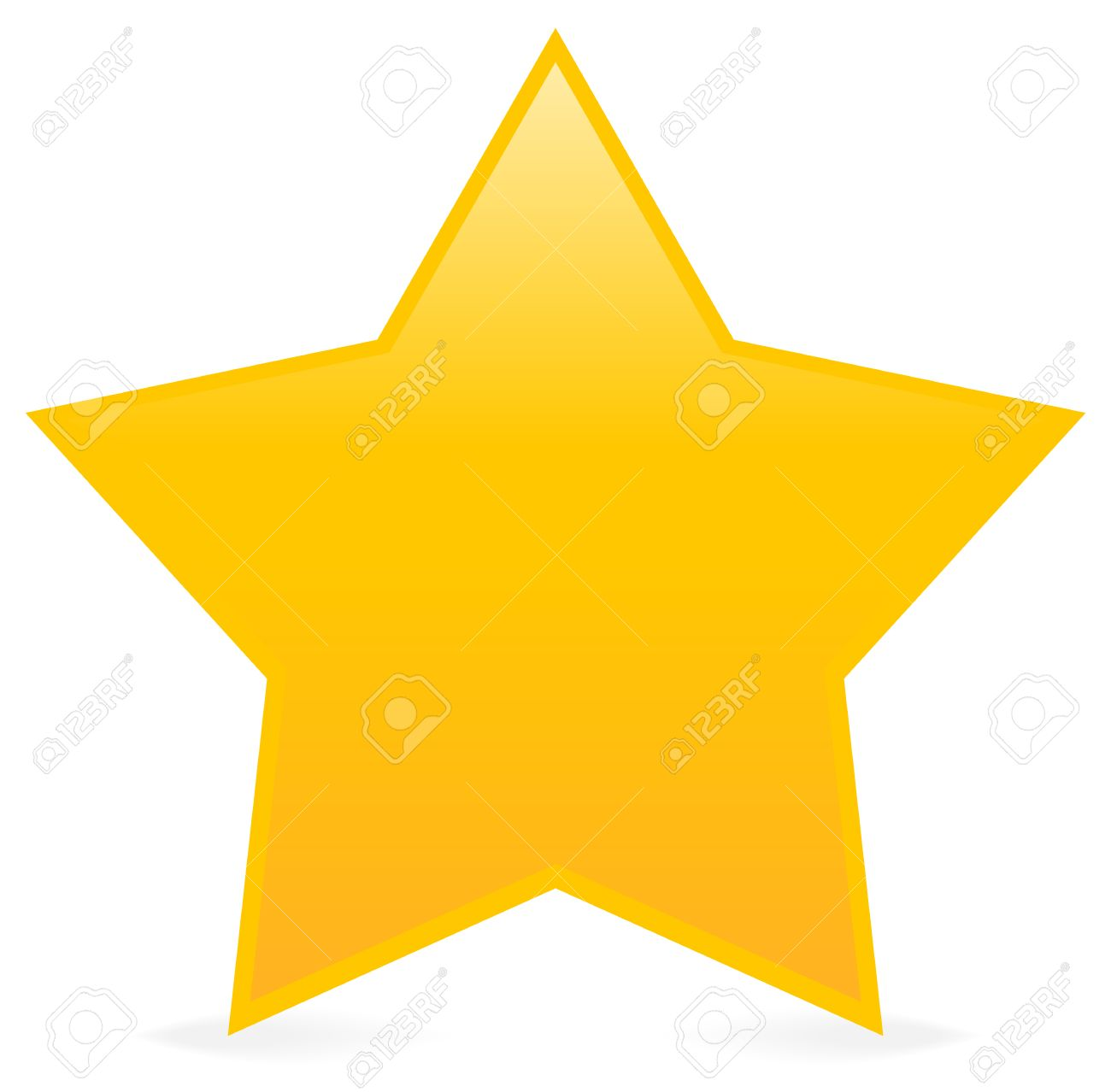 yellow star isolated on white simply star clip art star icon rh 123rf com  yellow star clip art free