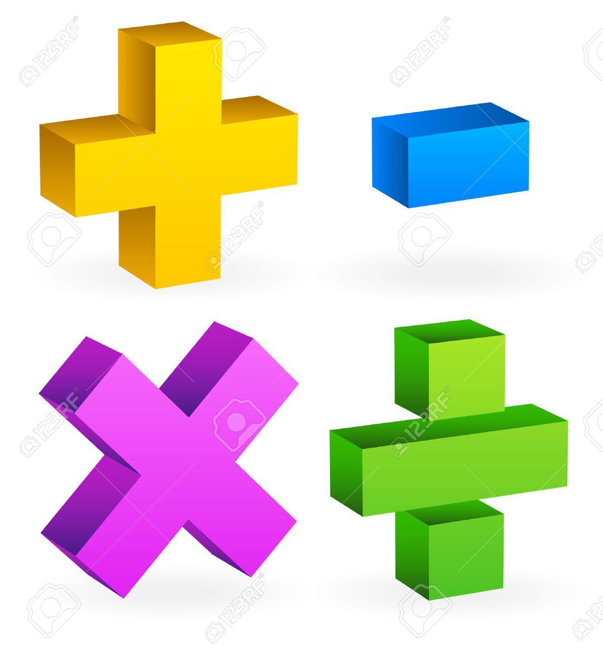 Math Symbole Mathmatique De Calcul Le Concept De La Calculatrice