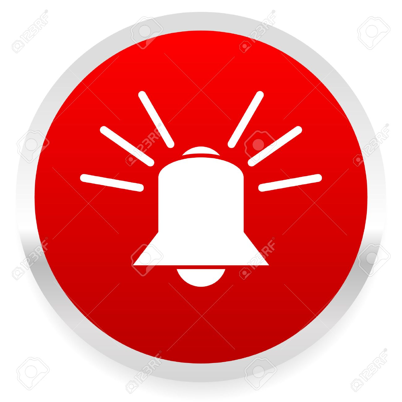 Sonner La Cloche. Alarme, D'urgence, Sirène, Vecteur De Système De Sécurité. Clip Art Libres De Droits , Vecteurs Et Illustration. Image 32300486.