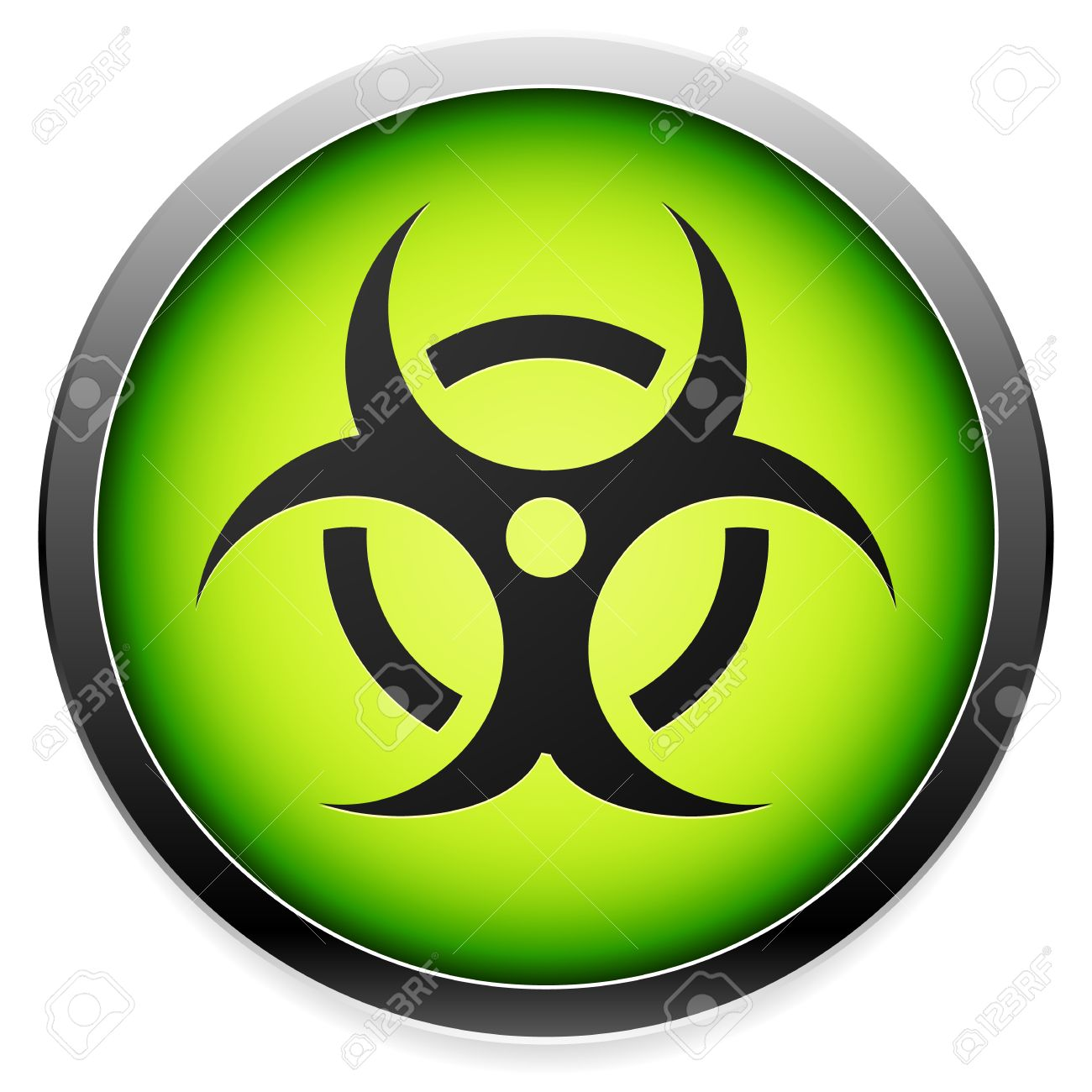 Quarantine contamination bio hazard symbol sign icon in green quarantine contamination bio hazard symbol sign icon in green vector biocorpaavc Image collections