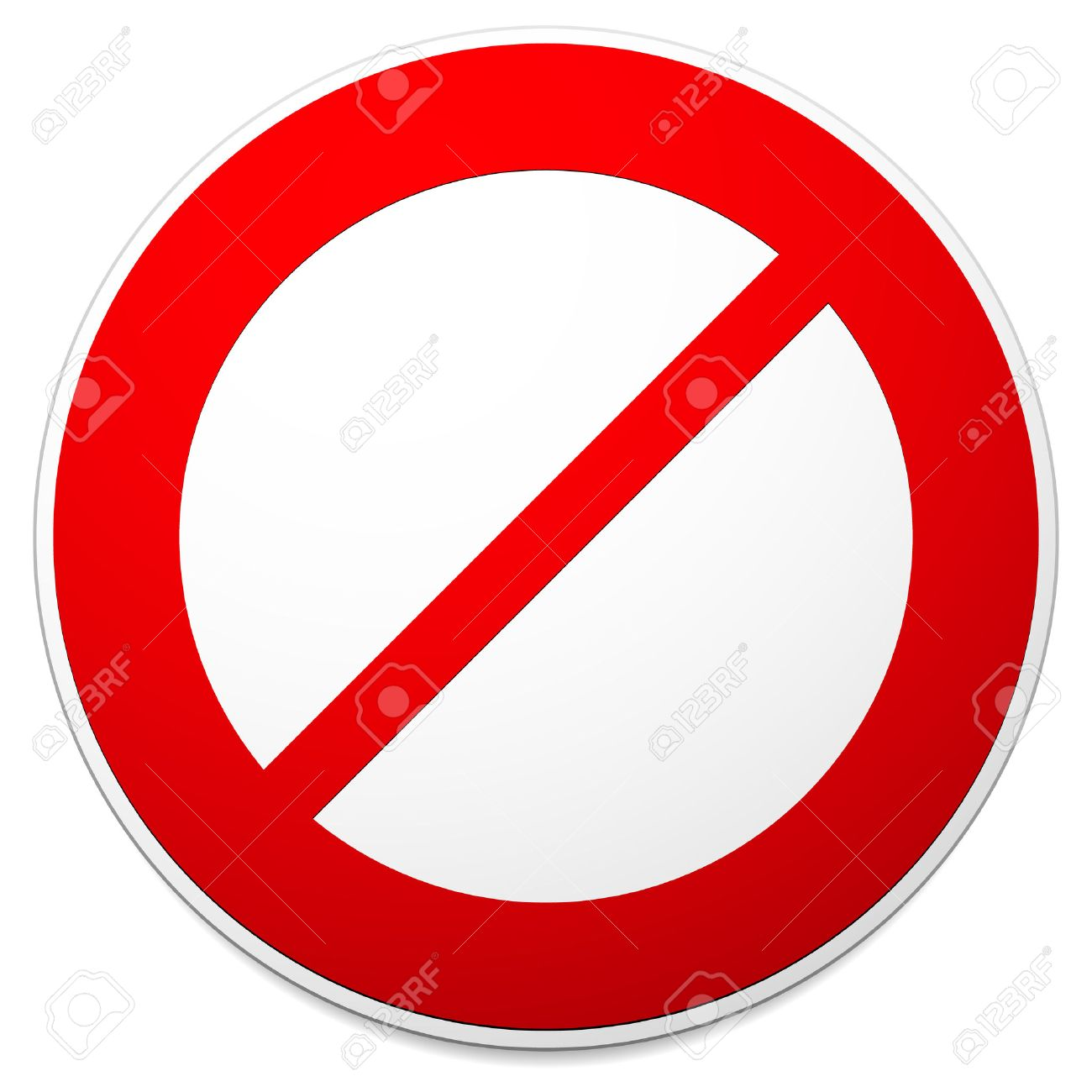 deny do not prohibition sign restriction no entry no way