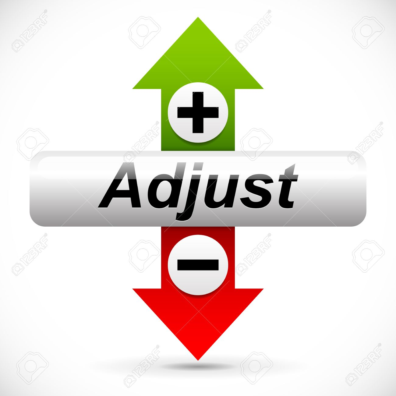 vertical adjustment adjust up down graphics royalty free cliparts