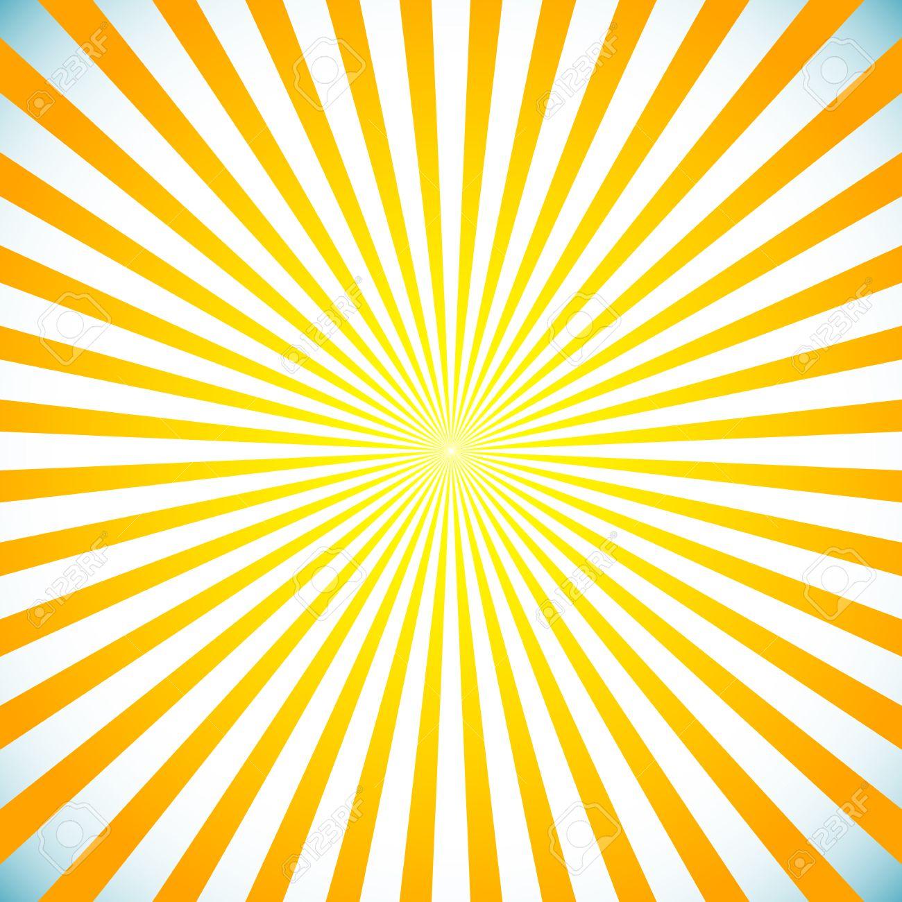 Background image center - Vector Illustration Of A Bright Sunbrust Starburst Background Sun Light Spreading From Center