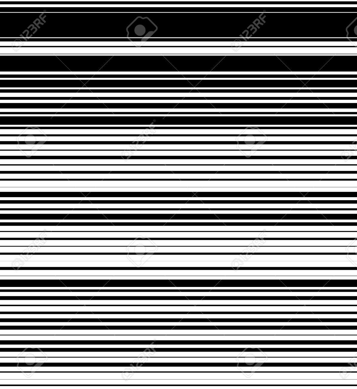 straight horizontal lines pattern with random thickness black rh 123rf com Photoshop Horizontal Lines Gray Thick Horizontal Line
