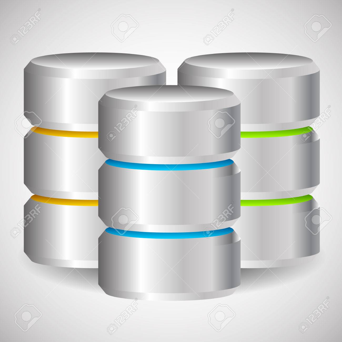 Metal Cylinder. Webhosting, Server, Mainframe Computer Concepts ...