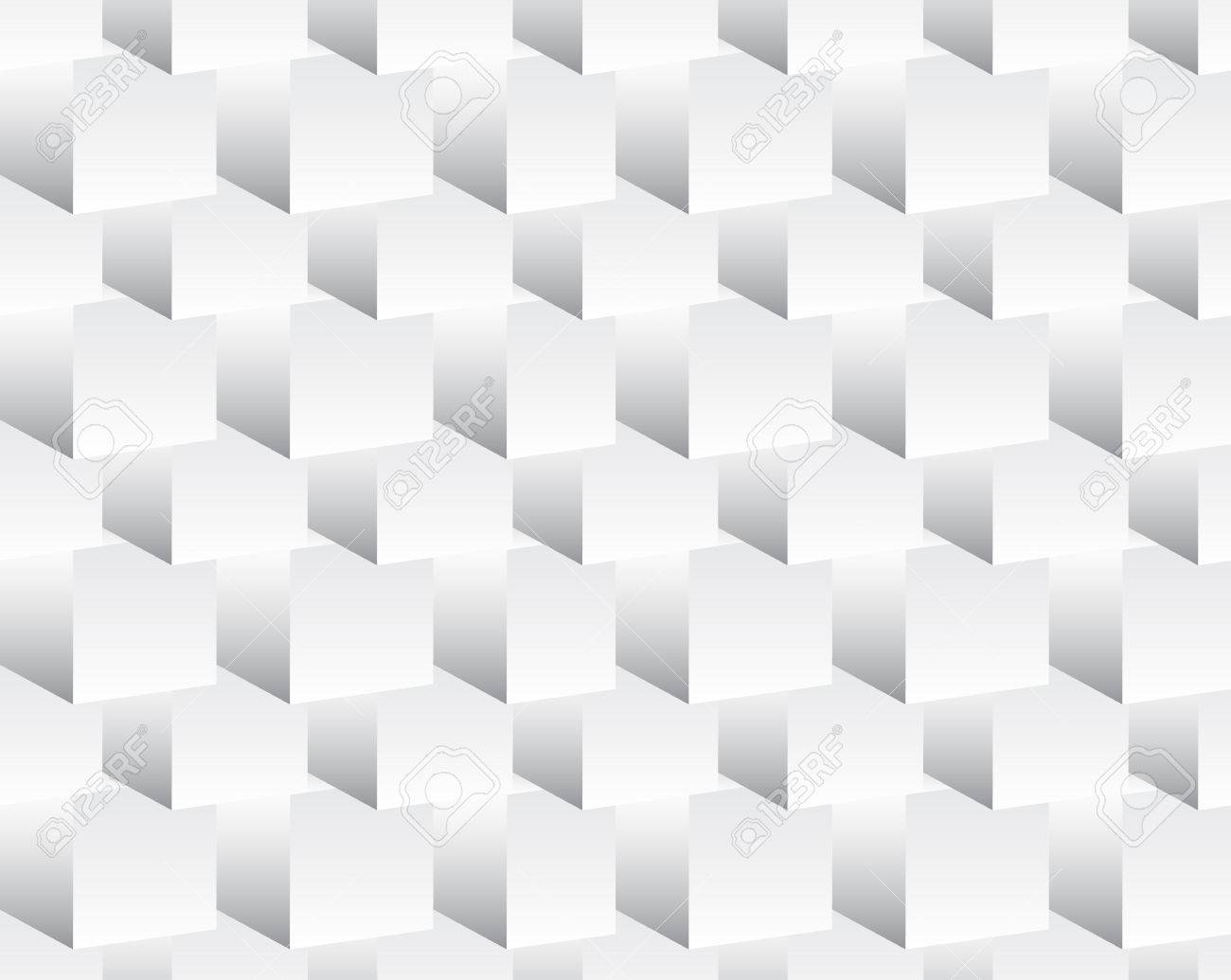Background image grayscale - Repeatable Background With 3d Cube Shapes Grayscale Abstract Minimal Pattern Stock