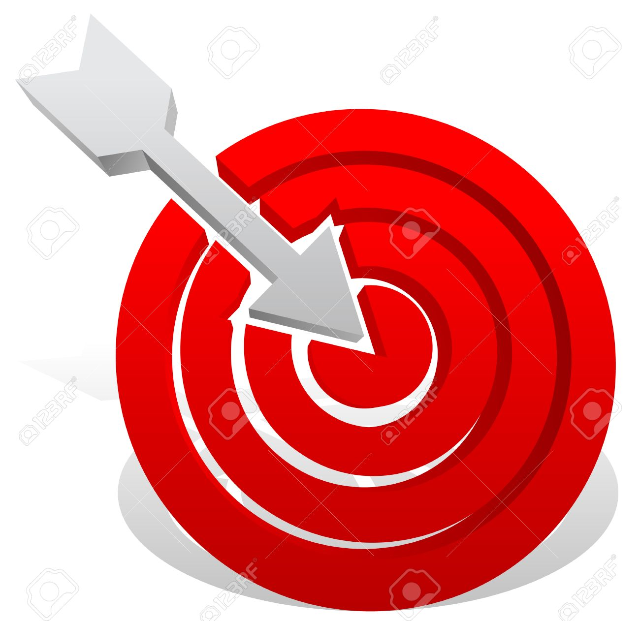 Arrow in red target precision bullseye accuracy goals success precision bullseye accuracy goals success concept thecheapjerseys Gallery