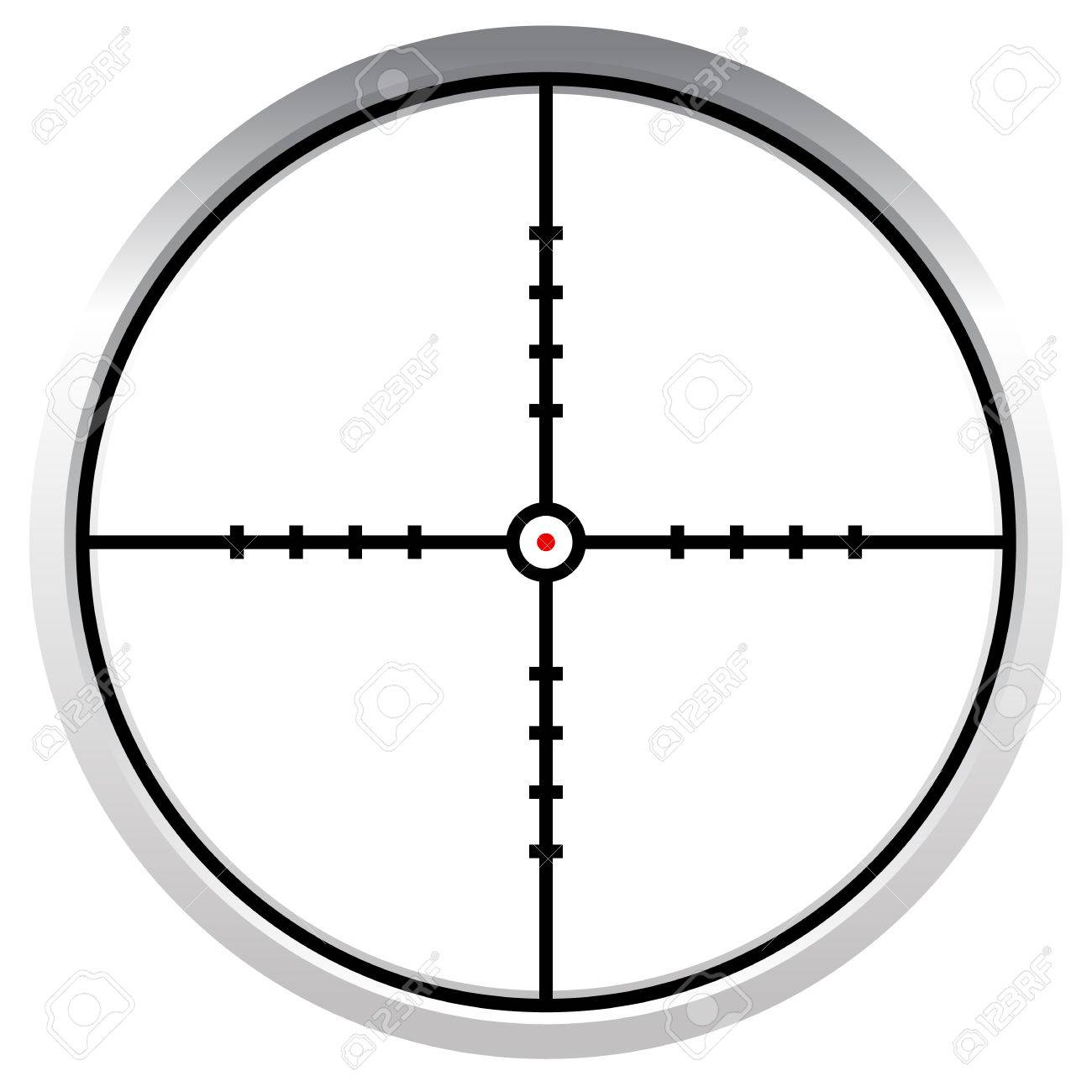 crosshair reticle target mark editable vector illustration stock rh 123rf com  crosshair vector free