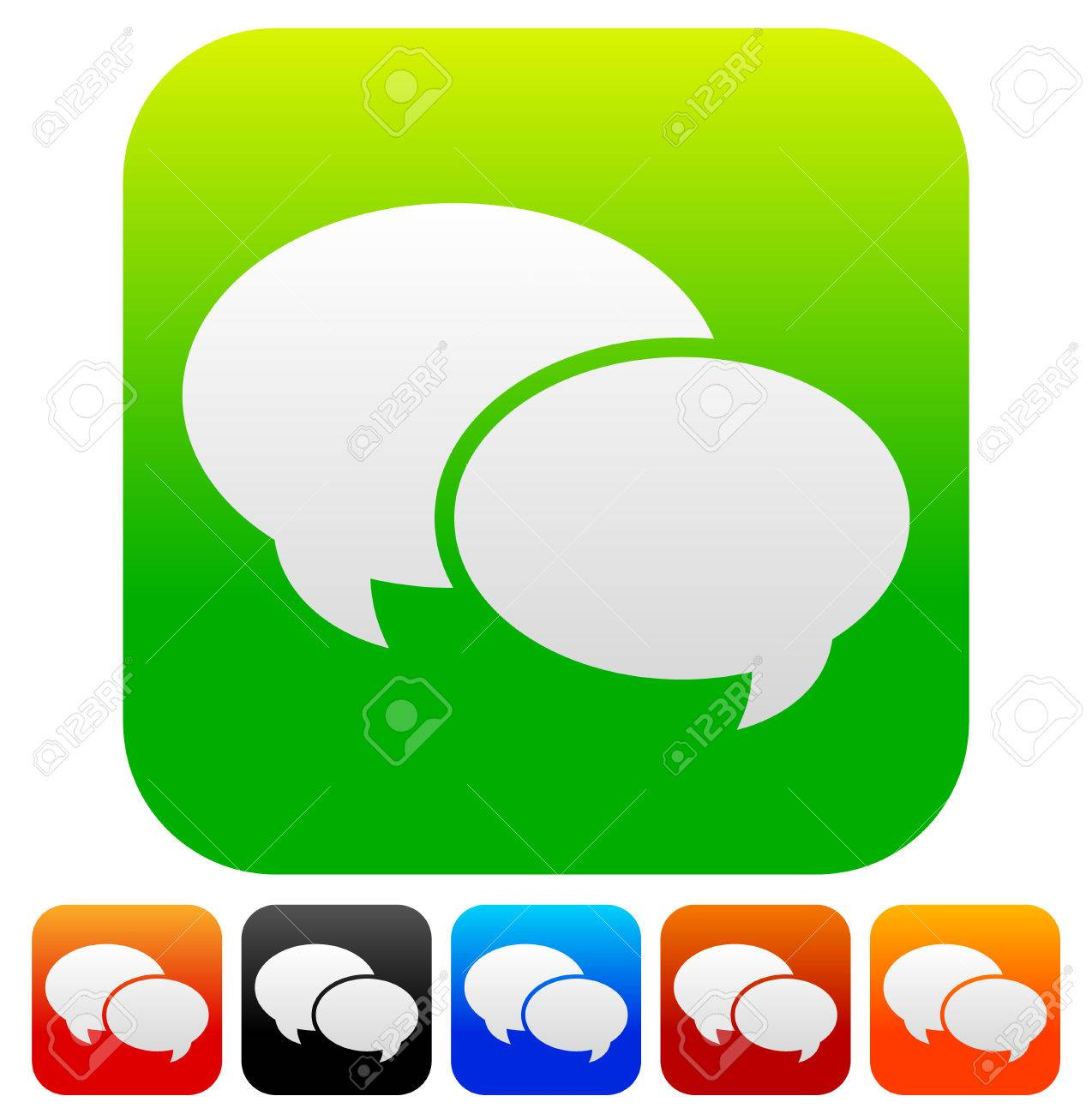 speech bubble vector graphics two overlapping speech talk bubbles rh 123rf com free vector graphics speech bubble free vector cartoon speech bubbles