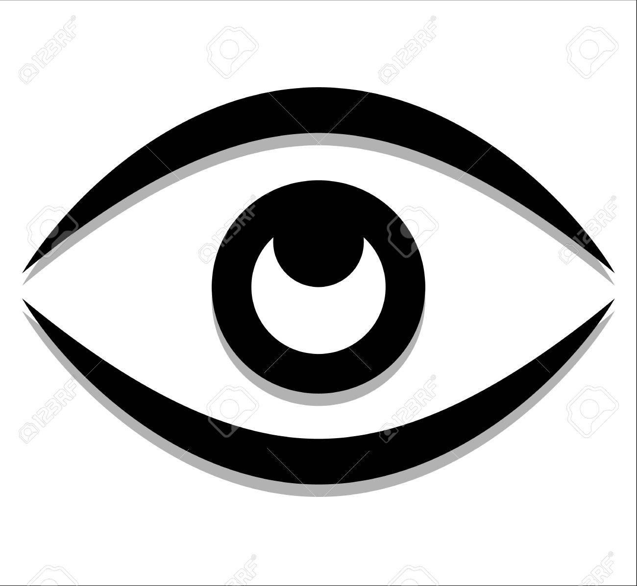 eye graphic vision seeing sight observation vector royalty rh 123rf com eyeball vector png eyeball vector graphic