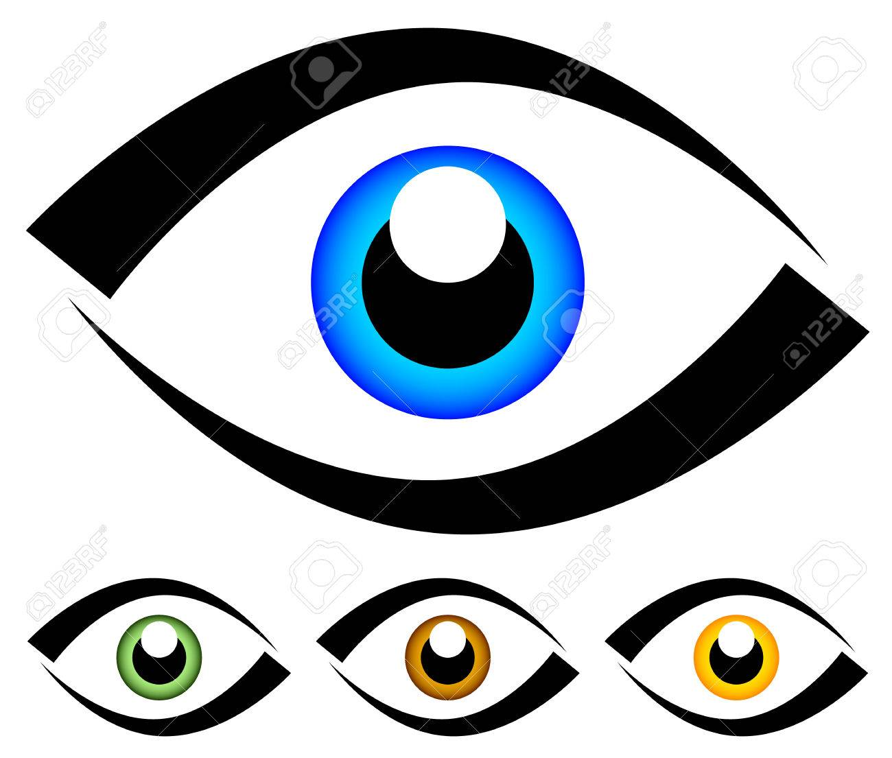 Eye Graphic. Vision, Seeing, Sight, Observation. Vector. Royalty ...