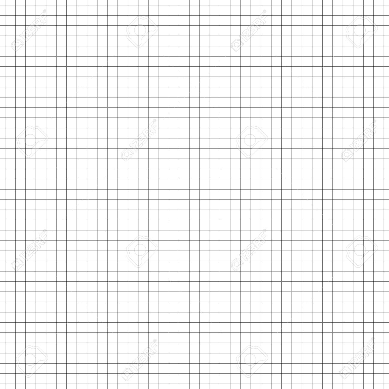 Seamless grid, mesh pattern. millimeter, graph paper background. Squared texture. Repeatable - 51198846