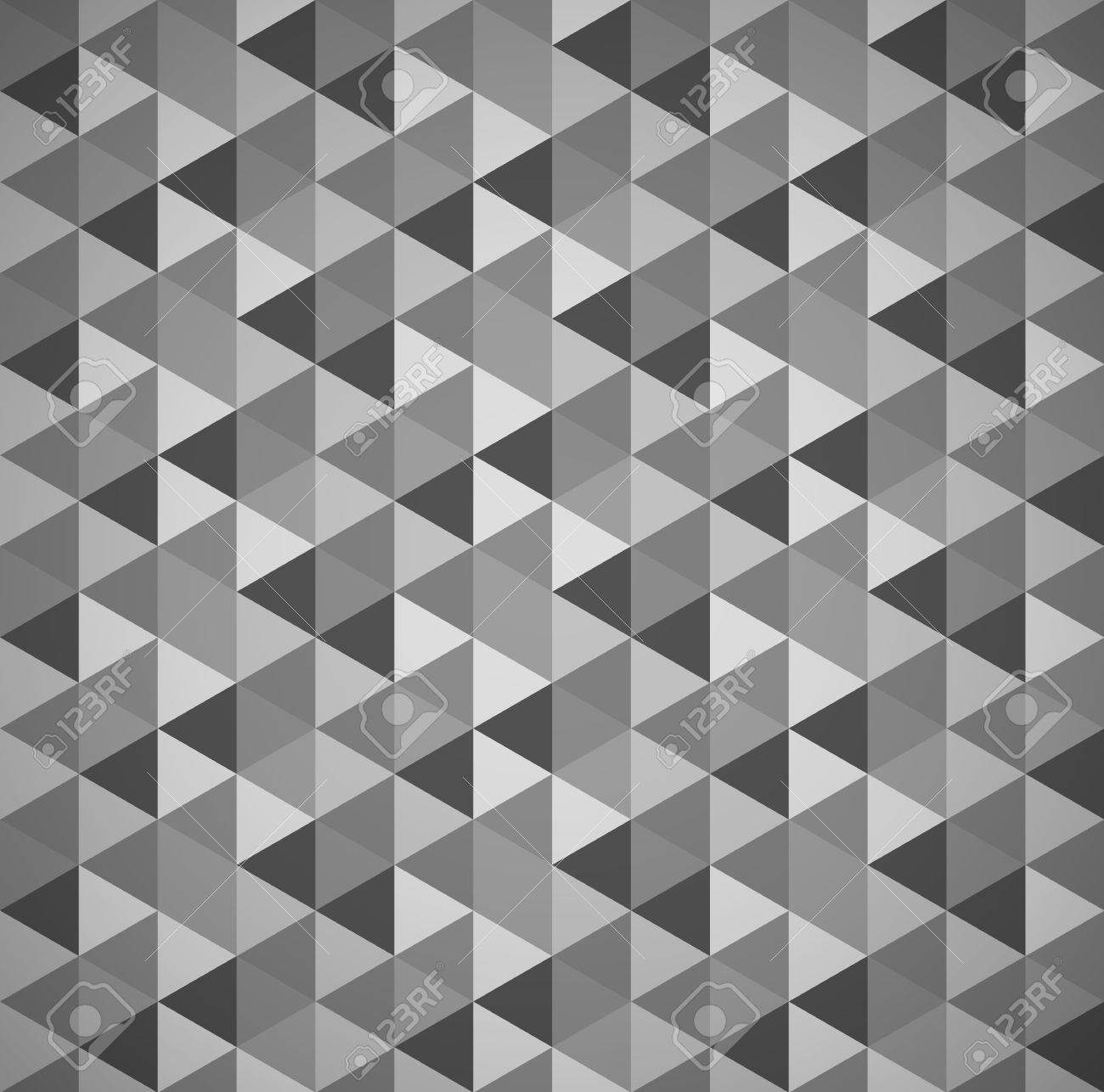 Grayscale mosaic tessellation background with triangles grayscale mosaic tessellation background with triangles seamlessly repeatable stock vector 51225035 dailygadgetfo Images