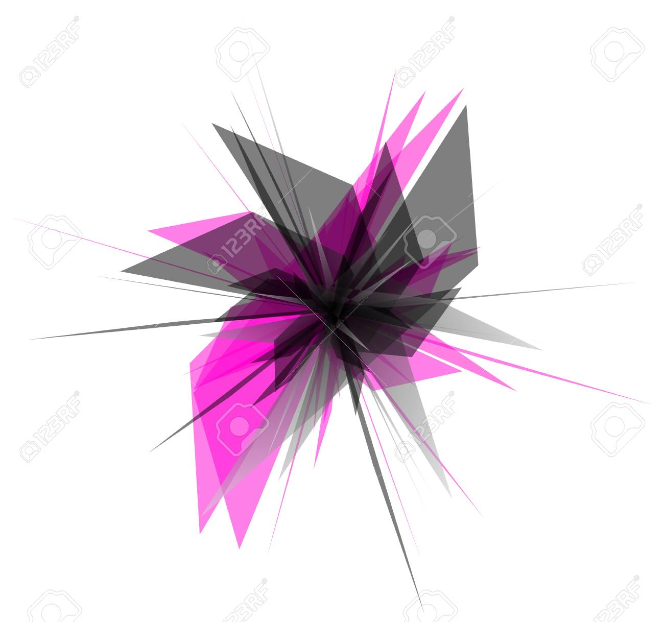abstract edgy geometric graphics shatters splinters abstract