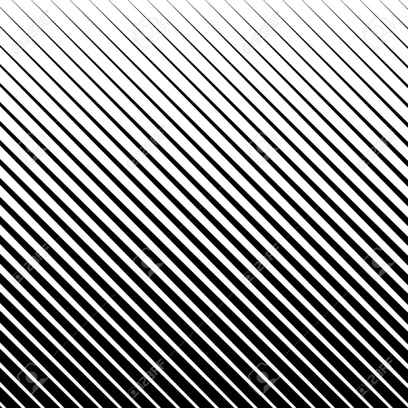 Slanting, diagonal straight lines abstract monochrome pattern, background - 56620270
