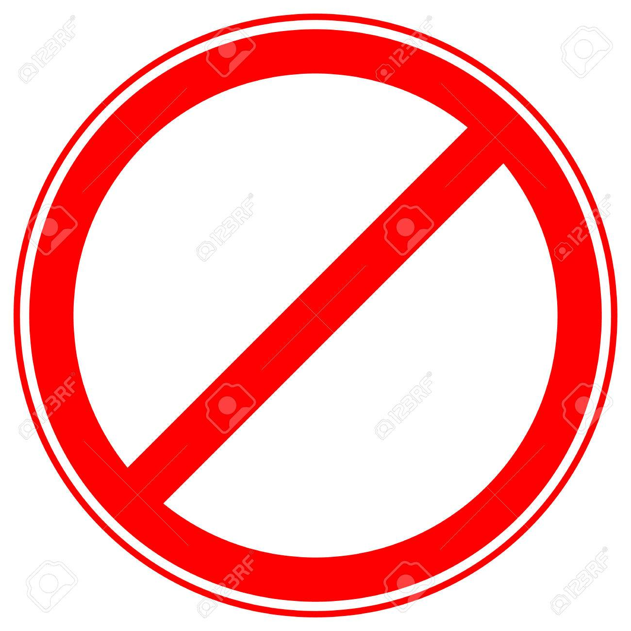 image regarding Printable Road Signs referred to as Printable restriction, prohibition signs or symptoms, prohibitive street symptoms