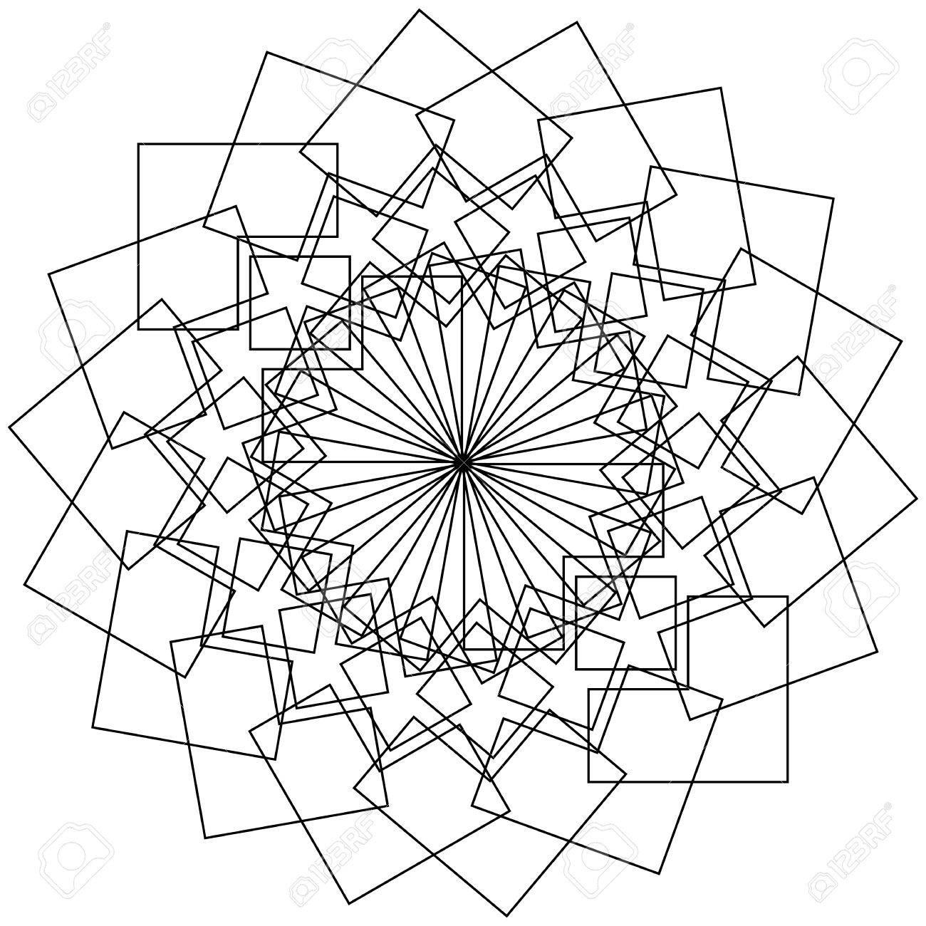 Geometric flower circular pattern lotus flower mandala motif geometric flower circular pattern lotus flower mandala motif stock vector 64103092 mightylinksfo