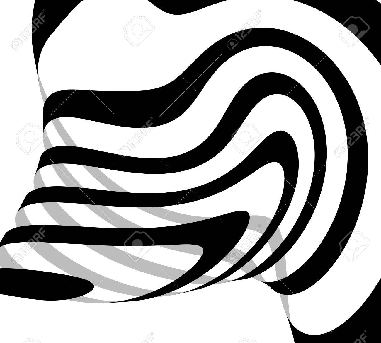 abstract freeform lines squiggly line curvy lines abstract