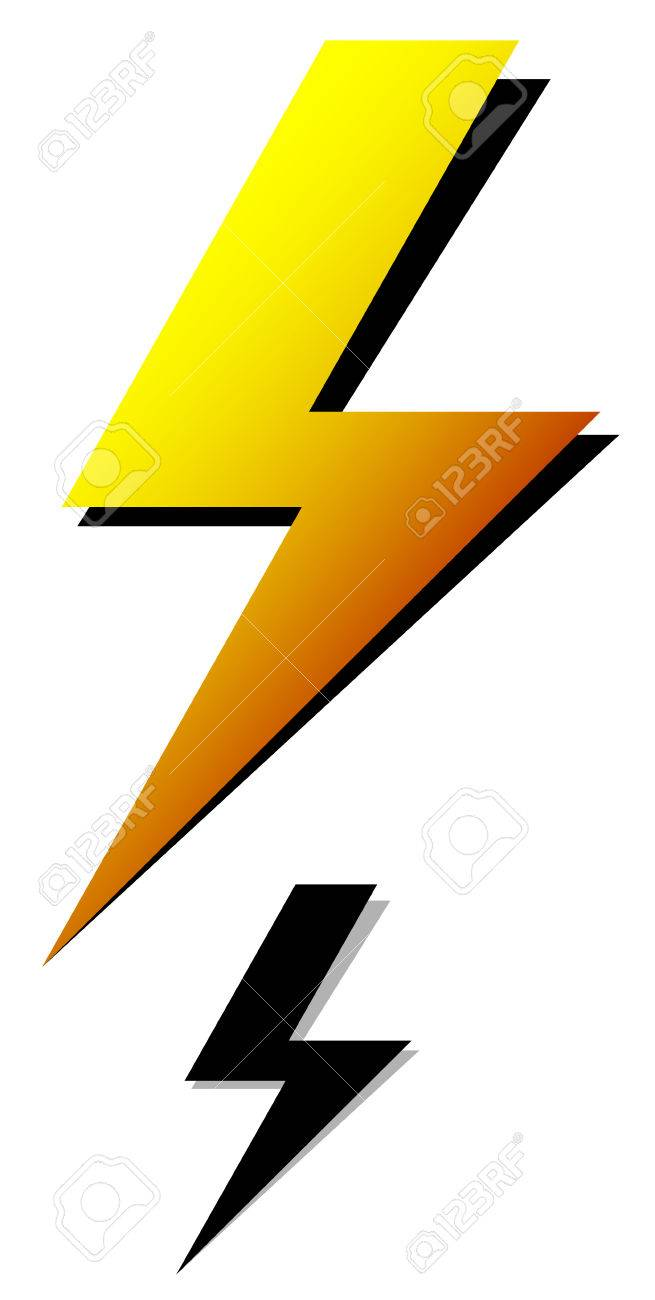 Lighting Bolt, Sparkle Shape. Lighting Bolt, Electricity Icon ... for Vector Lighting Bolt  76uhy