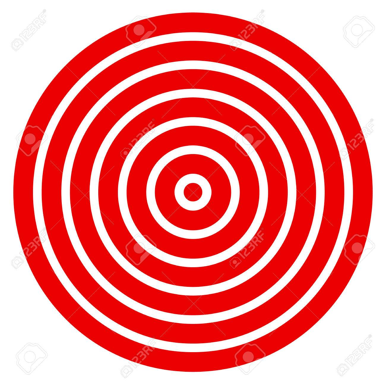 picture relating to Printable Bullseye Target identify Uncomplicated basic in direction of print concentration mark with bullseye