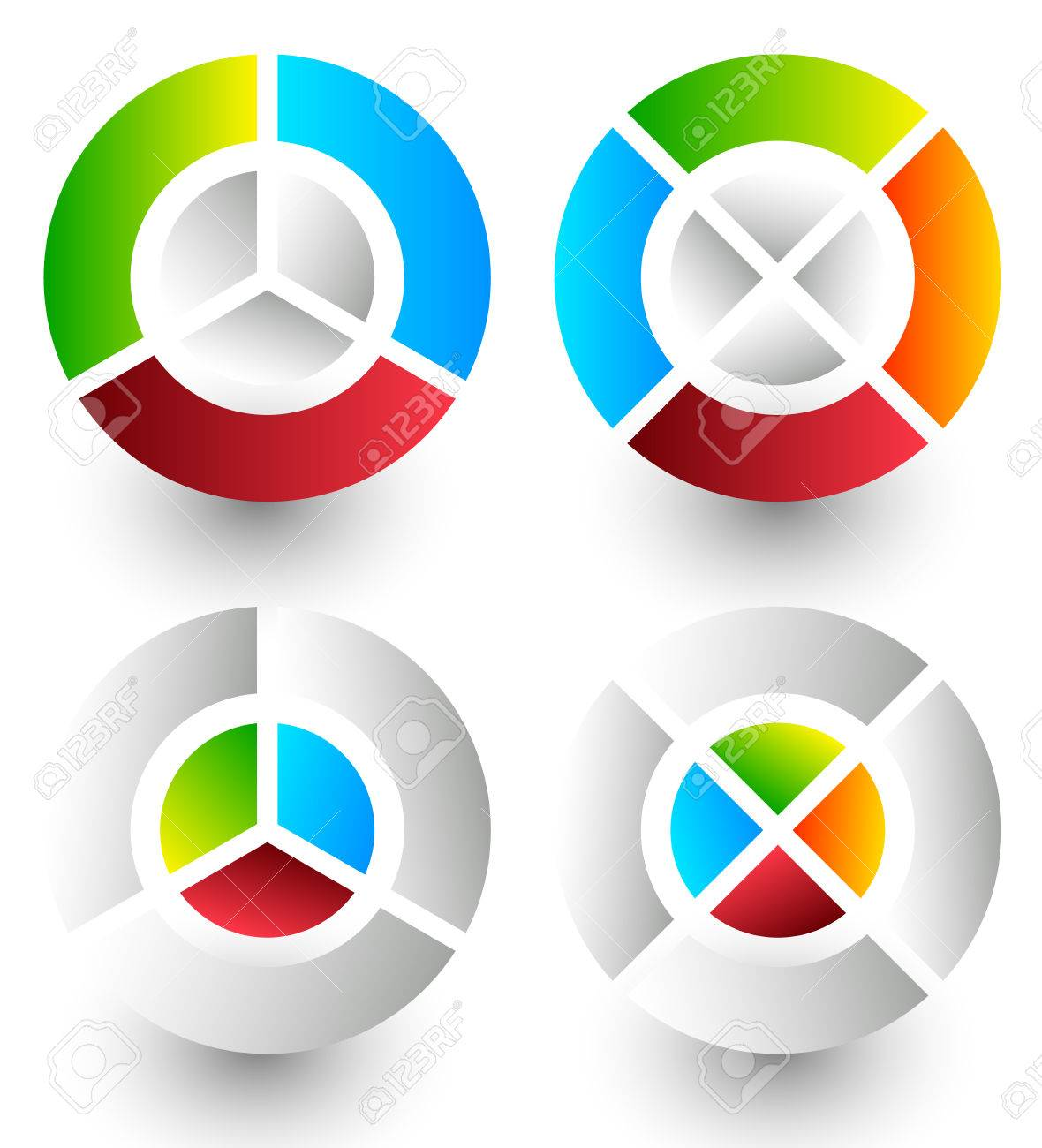 Pie chart pie graph icons analytics diagnostics infographic pie chart pie graph icons analytics diagnostics infographic icons colorful segmented nvjuhfo Images