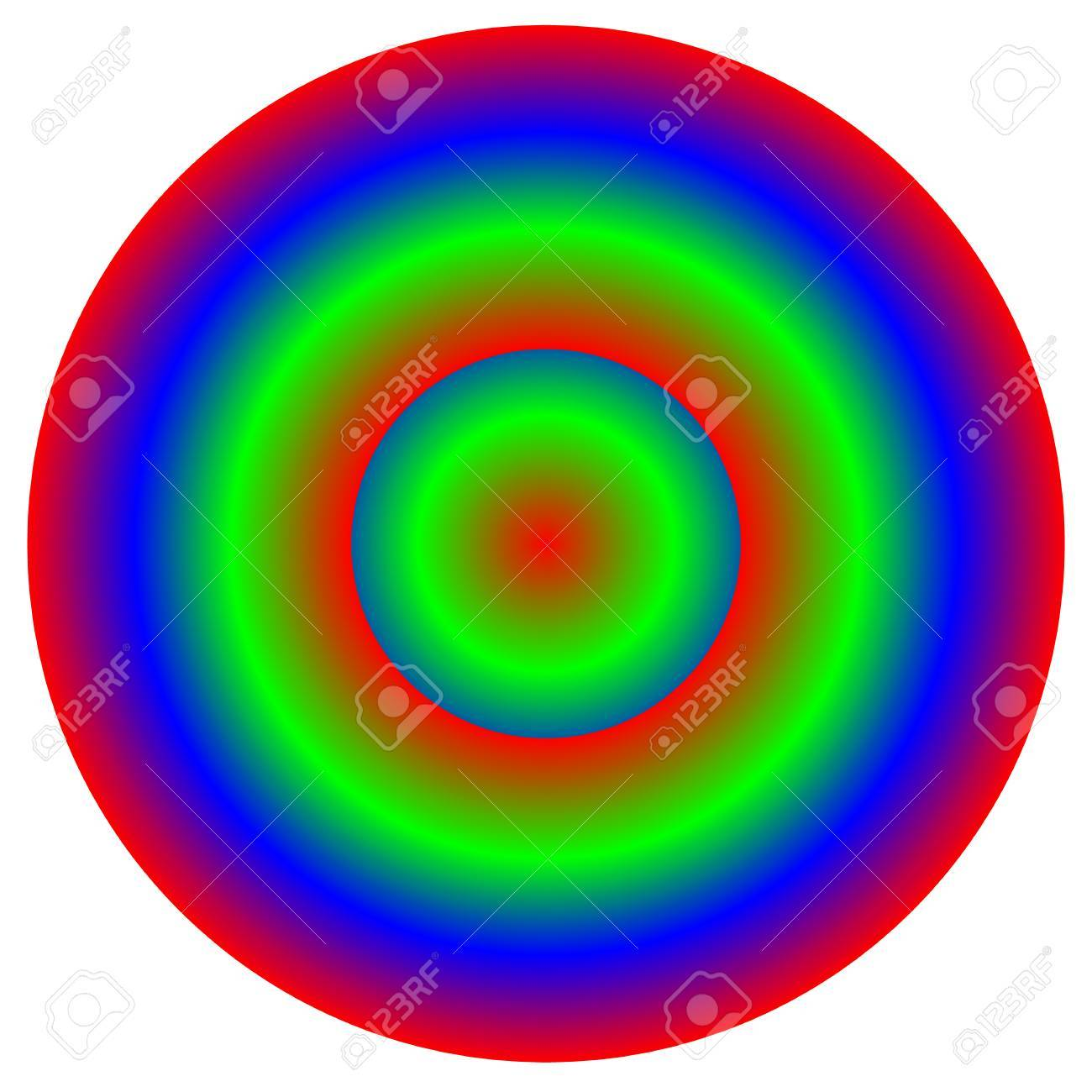 Circular Multicolor Element - Color Wheel, Color Palette With ...