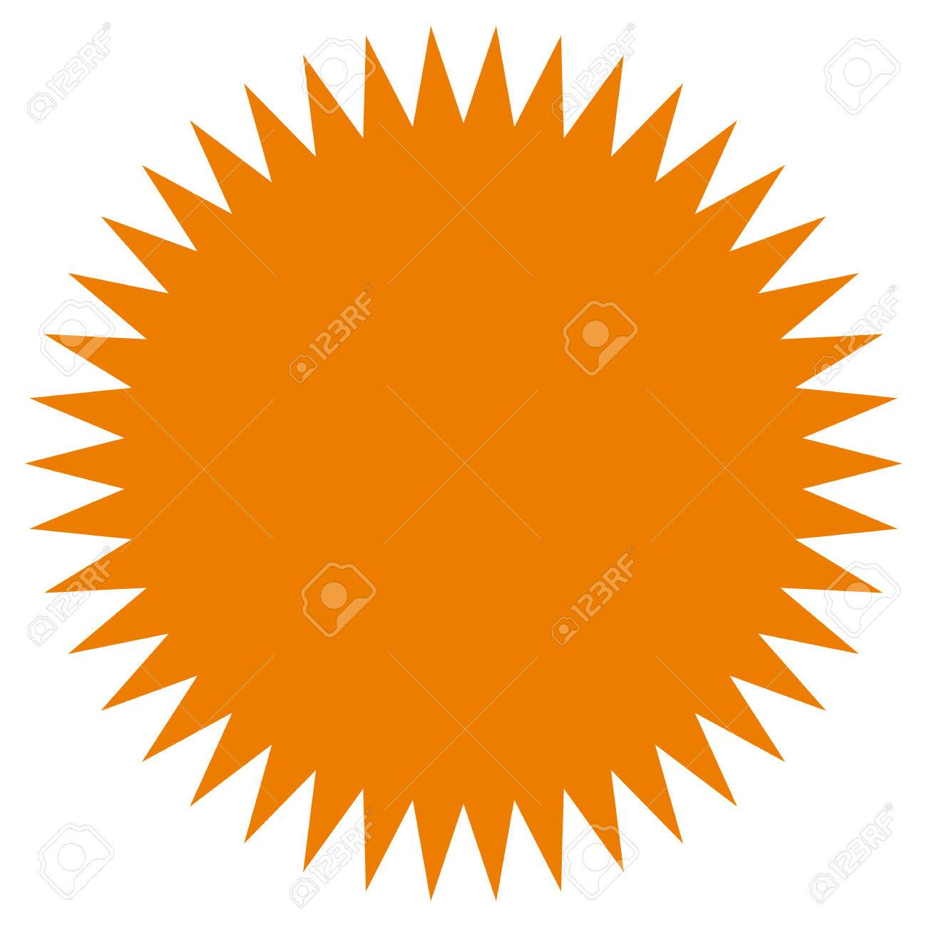 starburst sunburst shape flat price tag price flash icon royalty rh 123rf com sunburst vector illustrator sunburst vector psd