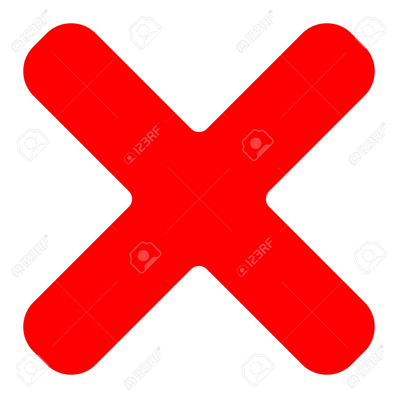 Red cross symbol icon as delete remove fail failure or red cross symbol icon as delete remove fail failure or incorrect answer biocorpaavc Images