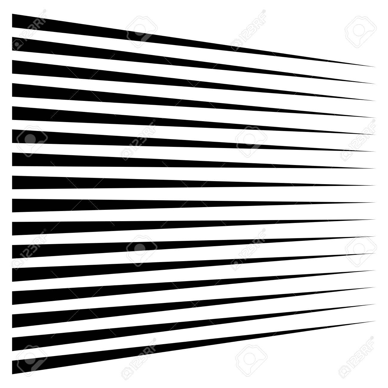 Horizontal lines, stripes. Straight parallel streaks, strips. Edgy pinstripe geometric pattern. Linear, lineal geometric design. - 131302799