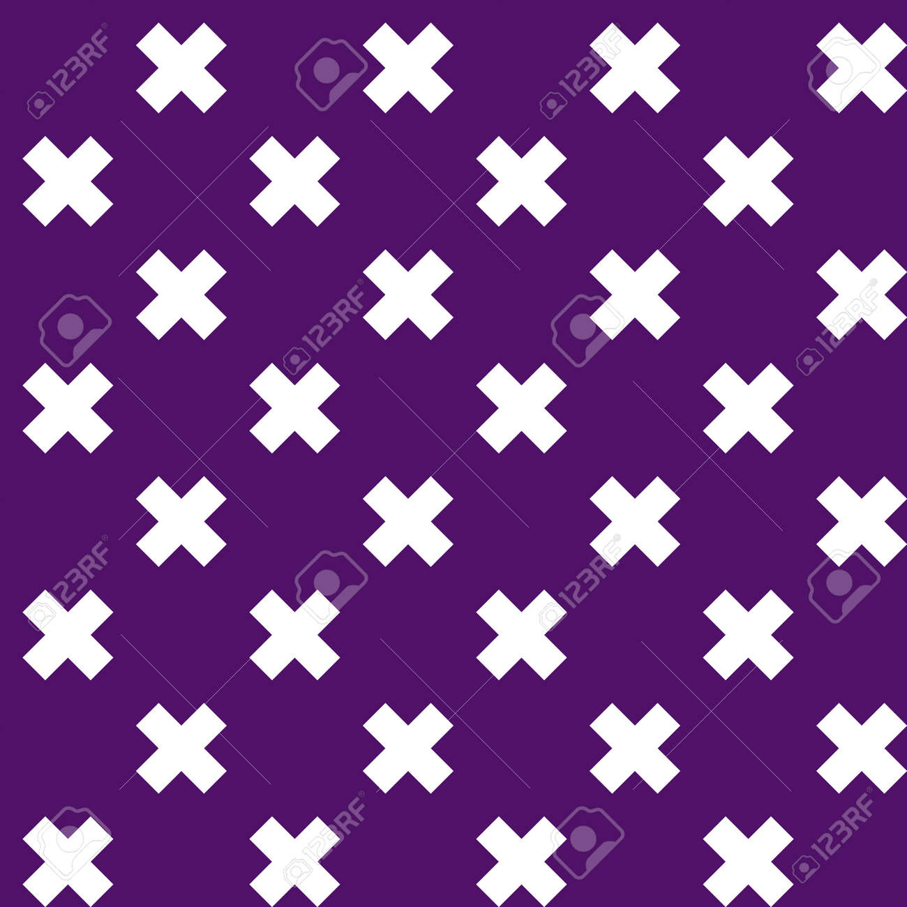 Cross, plus sign geometric seamlessly repeatable pattern, background, texture. Colorful, vivid, vibrant background illustration. Vector illustration - 168460356