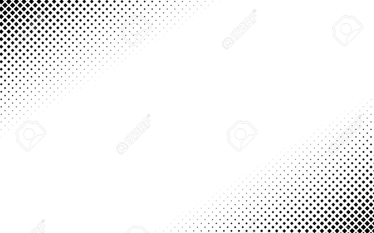 Squares halftone geometric background pattern and texture vector illustration - 167739204
