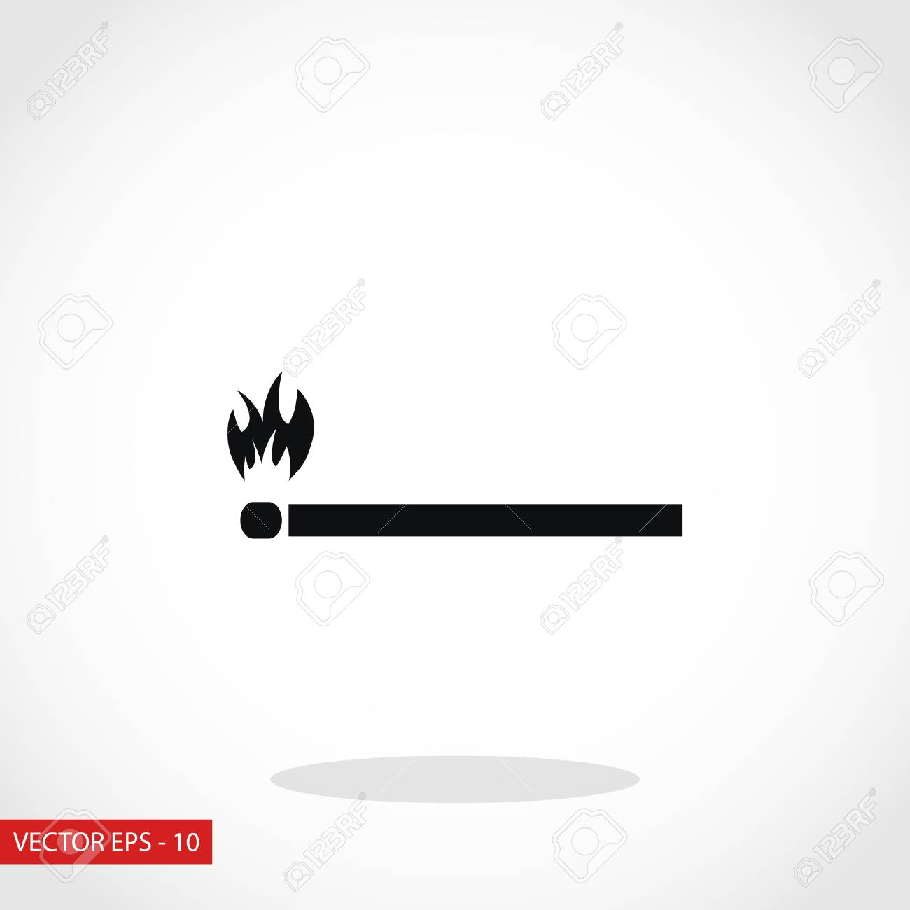 match icon vector flat design best vector icon royalty free cliparts vectors and stock illustration image 67339657 123rf com