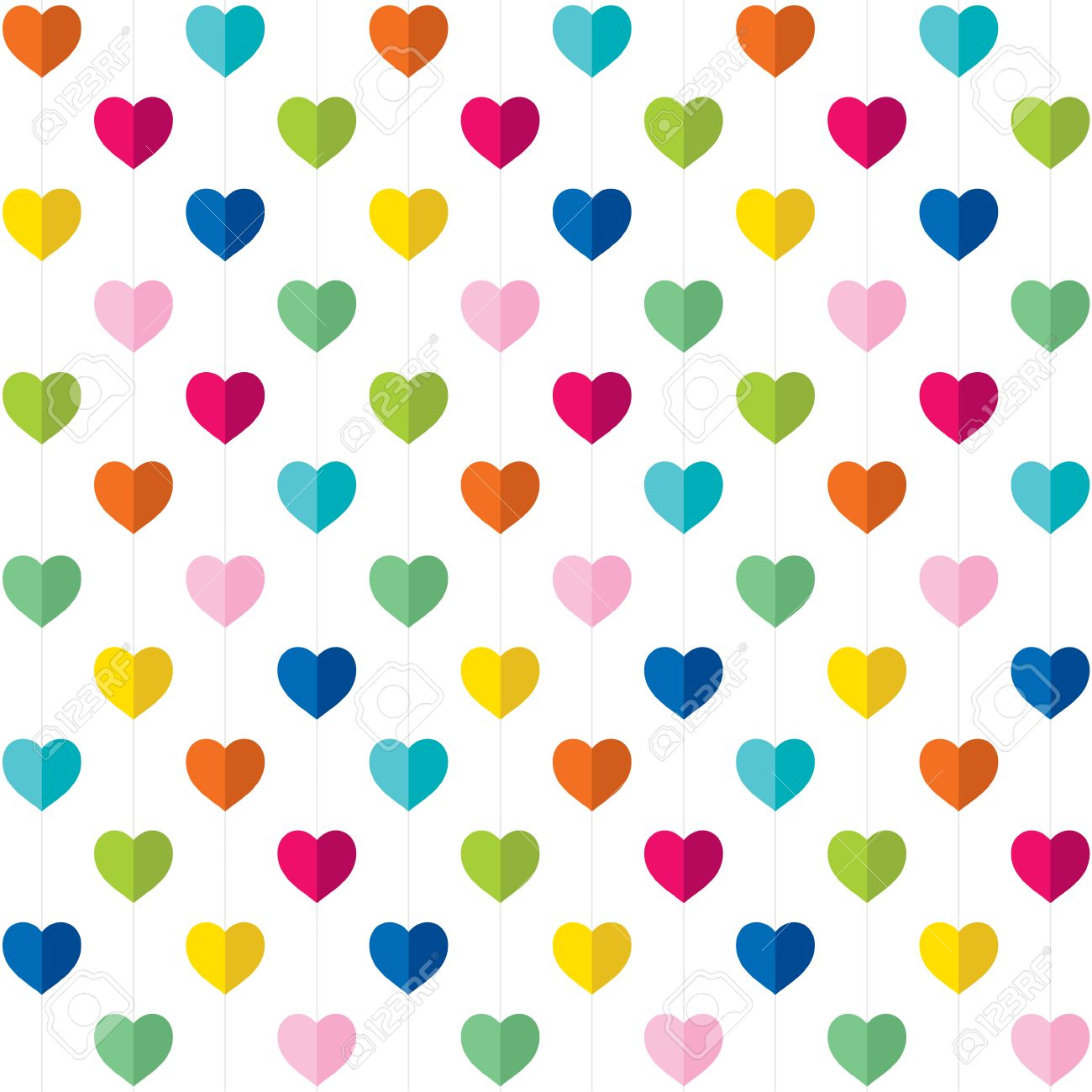 valentine day gift wrapping paper design vector royalty free