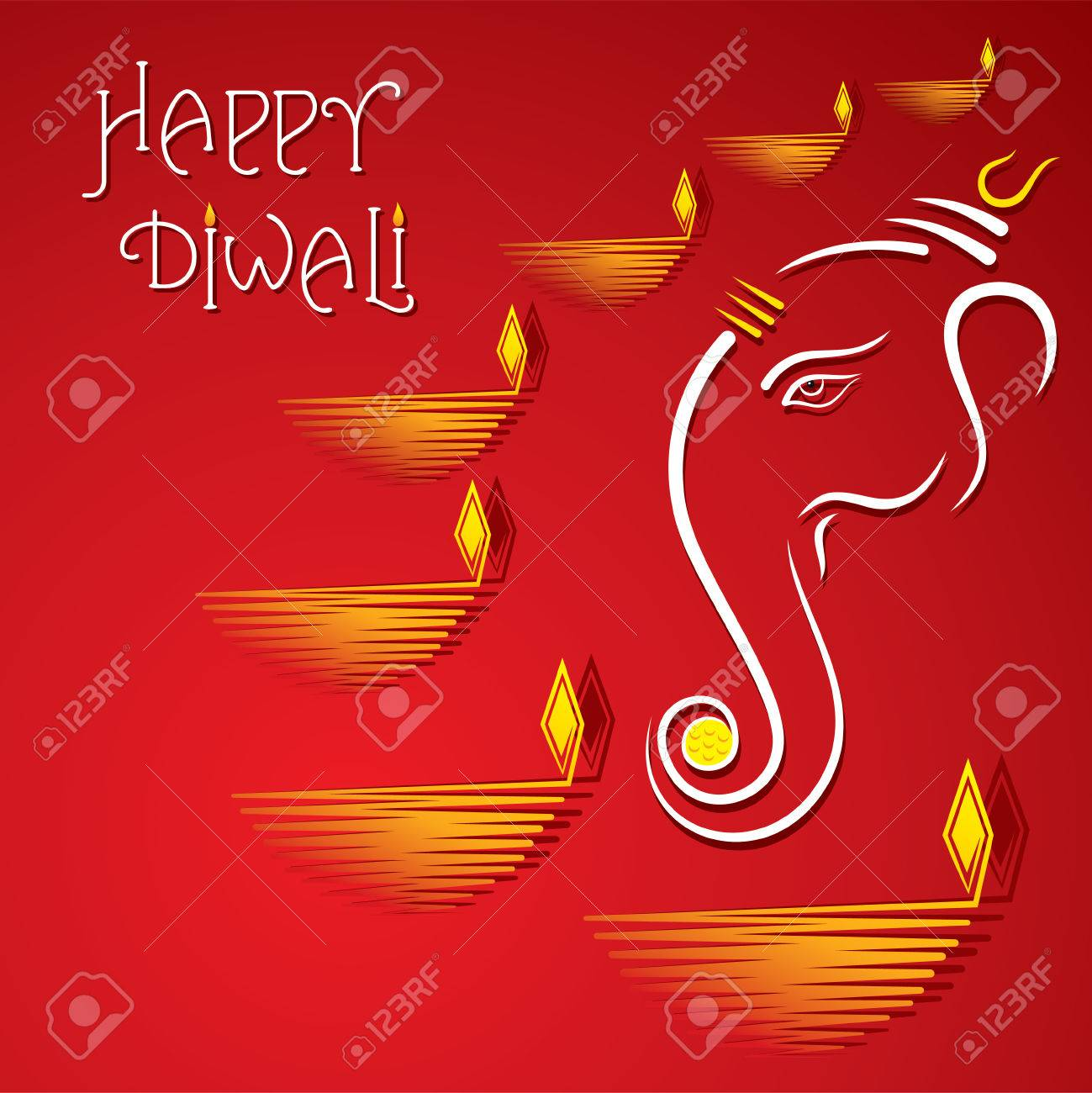 Happy diwali greeting card design vector royalty free cliparts happy diwali greeting card design vector stock vector 46135214 m4hsunfo Choice Image