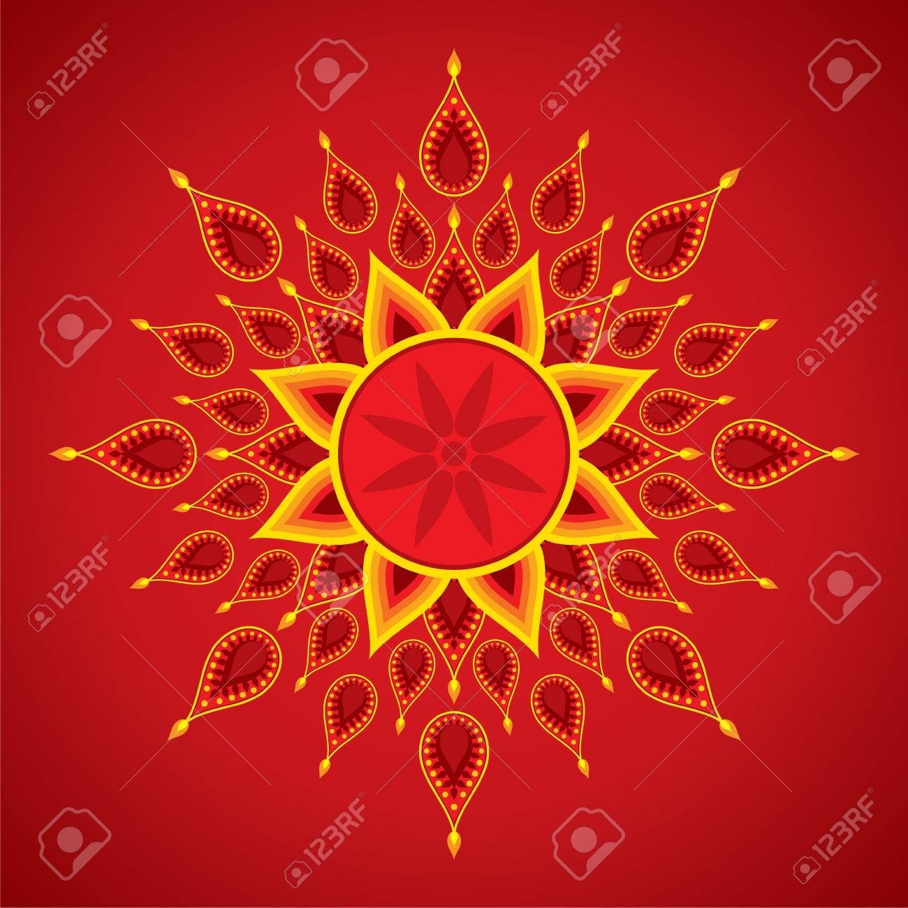 Creative diwali greeting card design vector royalty free cliparts creative diwali greeting card design vector stock vector 47040010 m4hsunfo