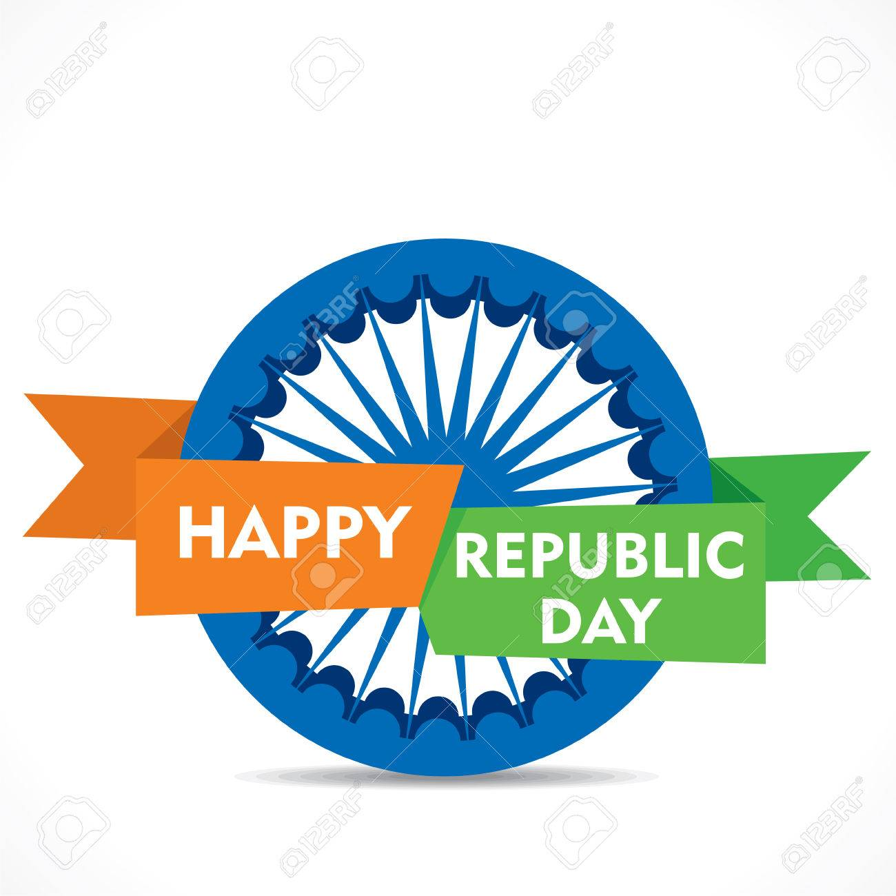Happy republic day greeting card design royalty free cliparts happy republic day greeting card design stock vector 50904119 m4hsunfo