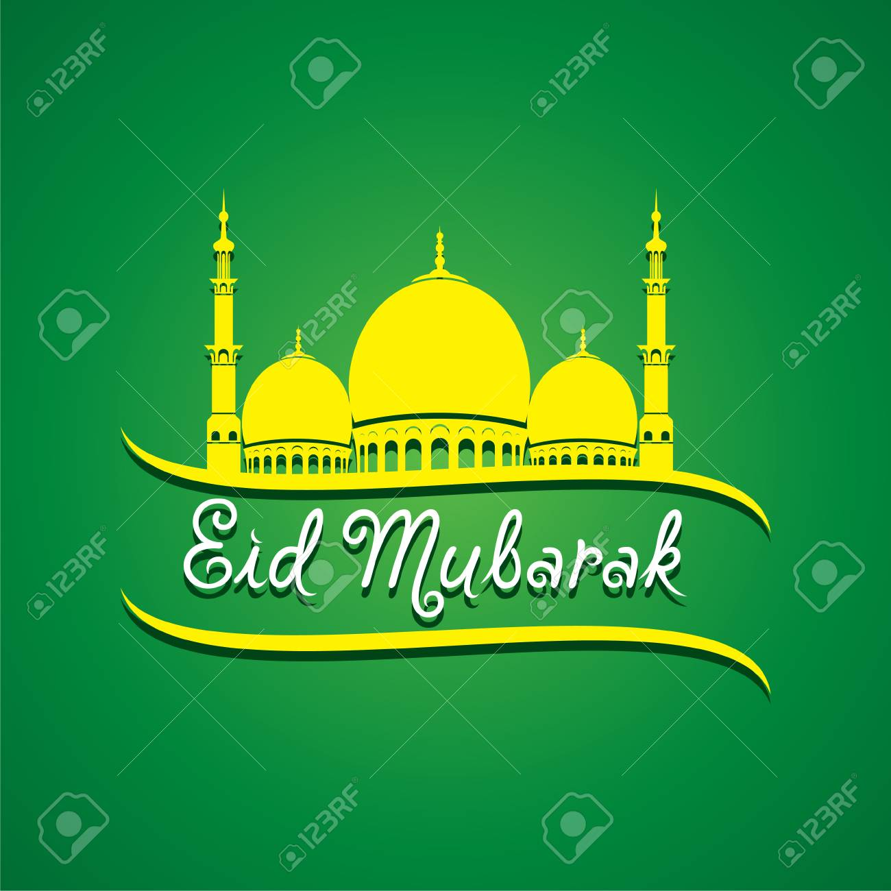 Eid mubarak islamic festival greeting card vector royalty free eid mubarak islamic festival greeting card vector stock vector 61237973 m4hsunfo