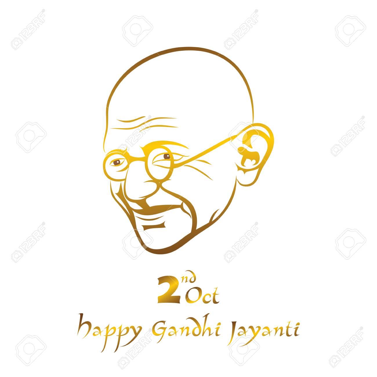 マハトマ ガンジー10 月 2 日のポスター ガンジードゥワダシ
