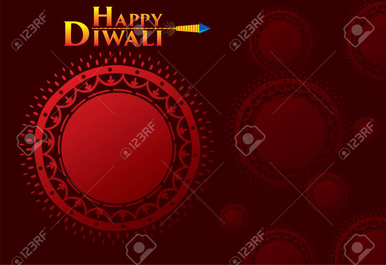 creative traditional design, happy diwali festival greeting or business promotion poster design, festival of light - 131550561