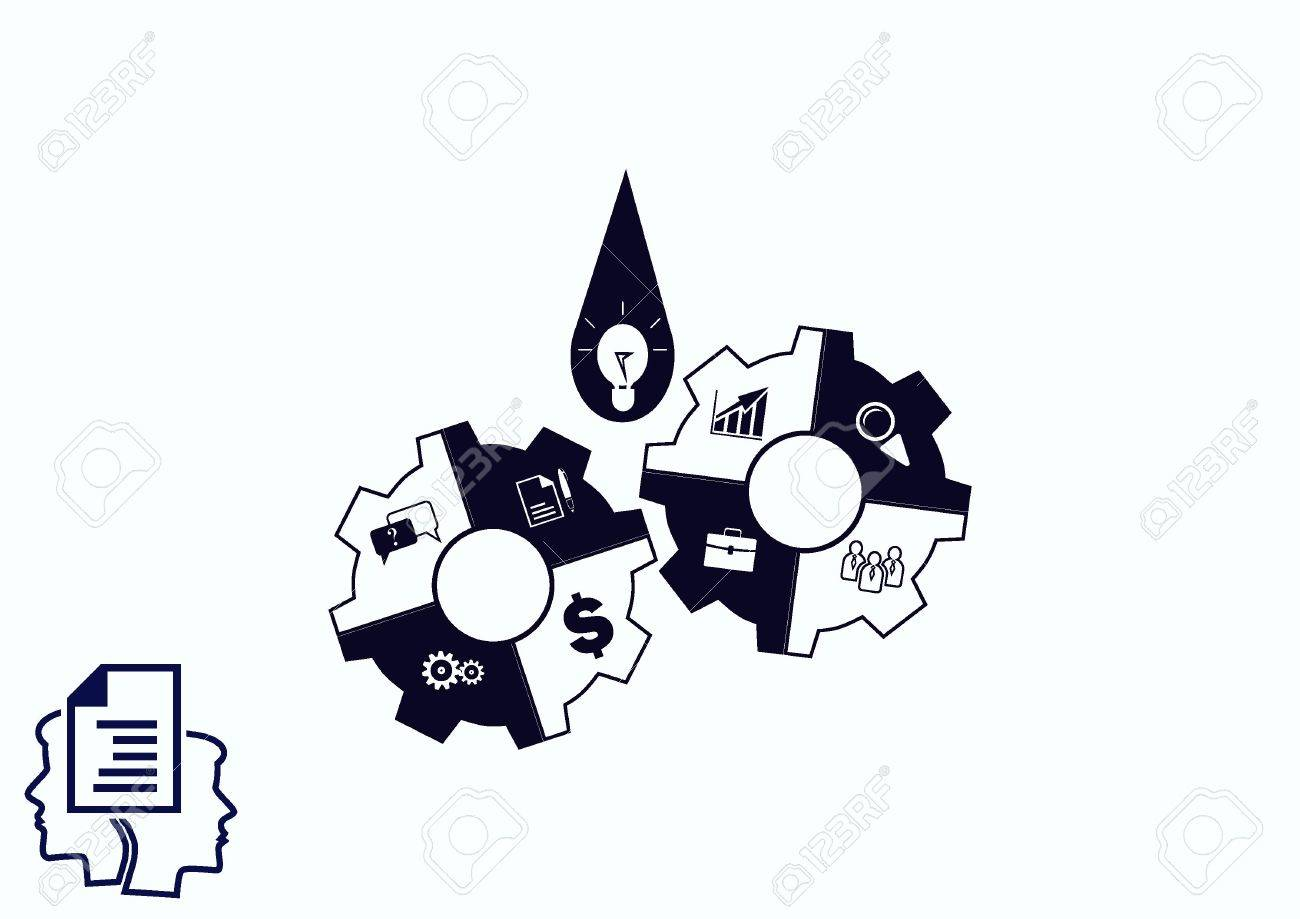 Business strategy icon, business concept icon, vector illustration. - 70380681