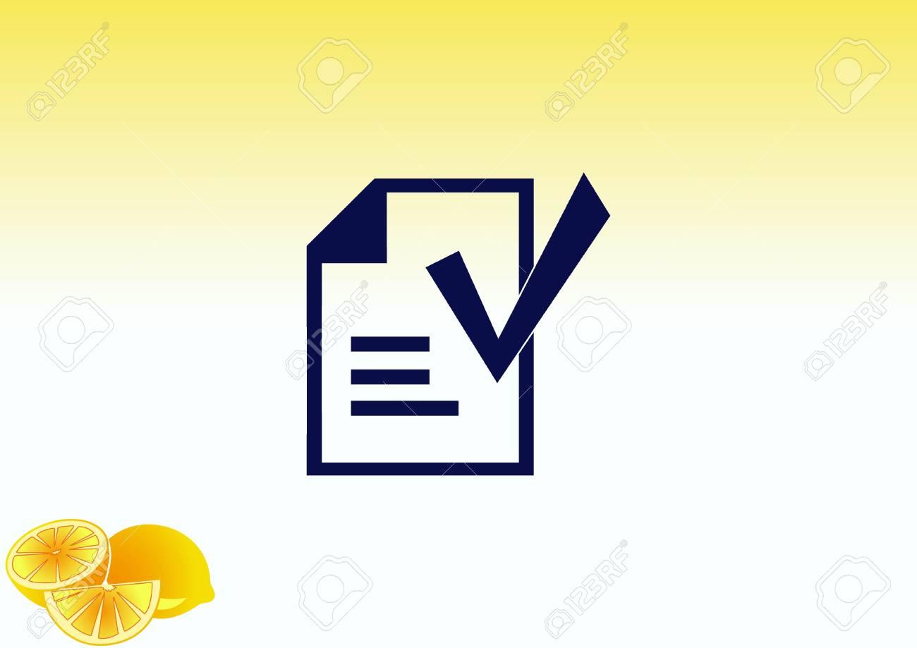 check mark symbol vector icon royalty free cliparts vetores e
