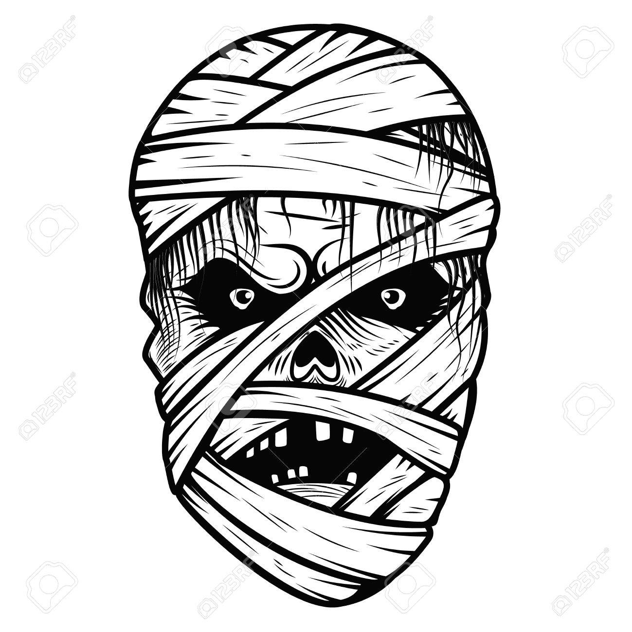 Mummy clipart mummy head, Mummy mummy head Transparent FREE for download on  WebStockReview 2020