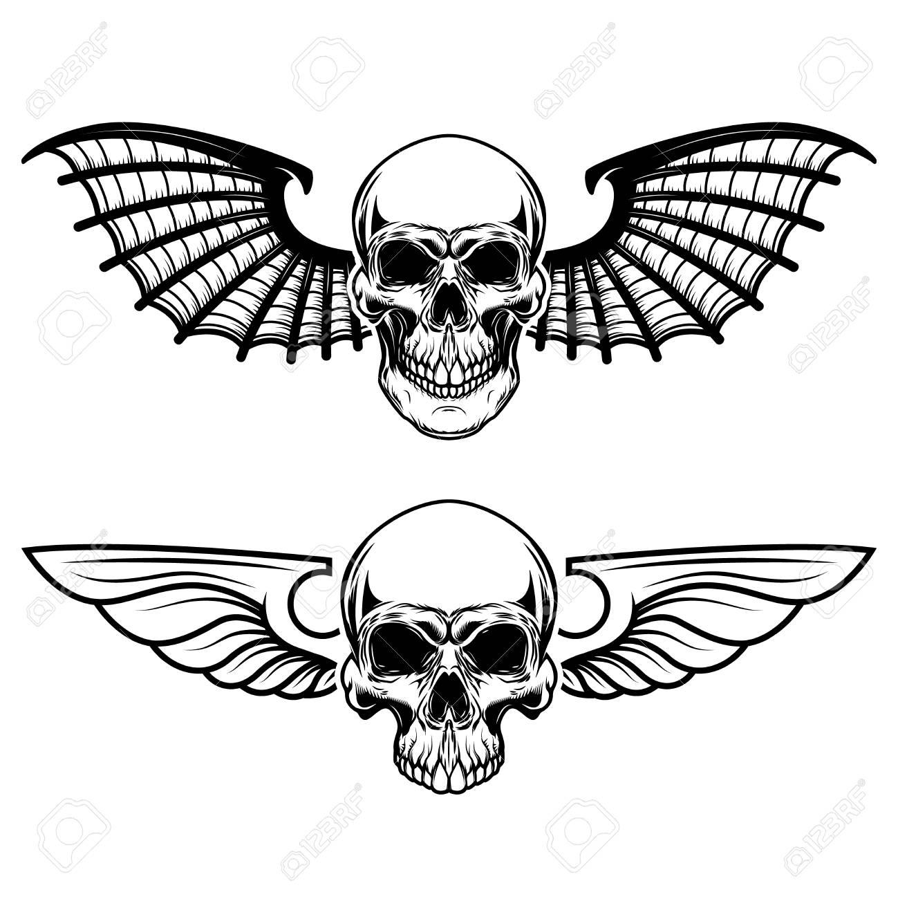 bat wing bones template www
