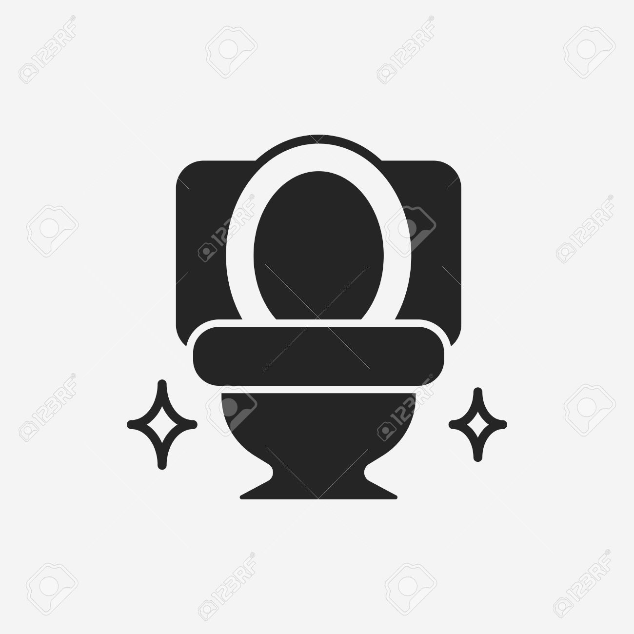 Toilet seat icon Stock Vector   42761851. Toilet Seat Icon Royalty Free Cliparts  Vectors  And Stock