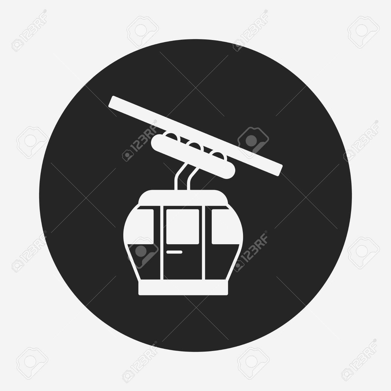 Cable Car Icon Royalty Free Cliparts, Vectors, And Stock ...