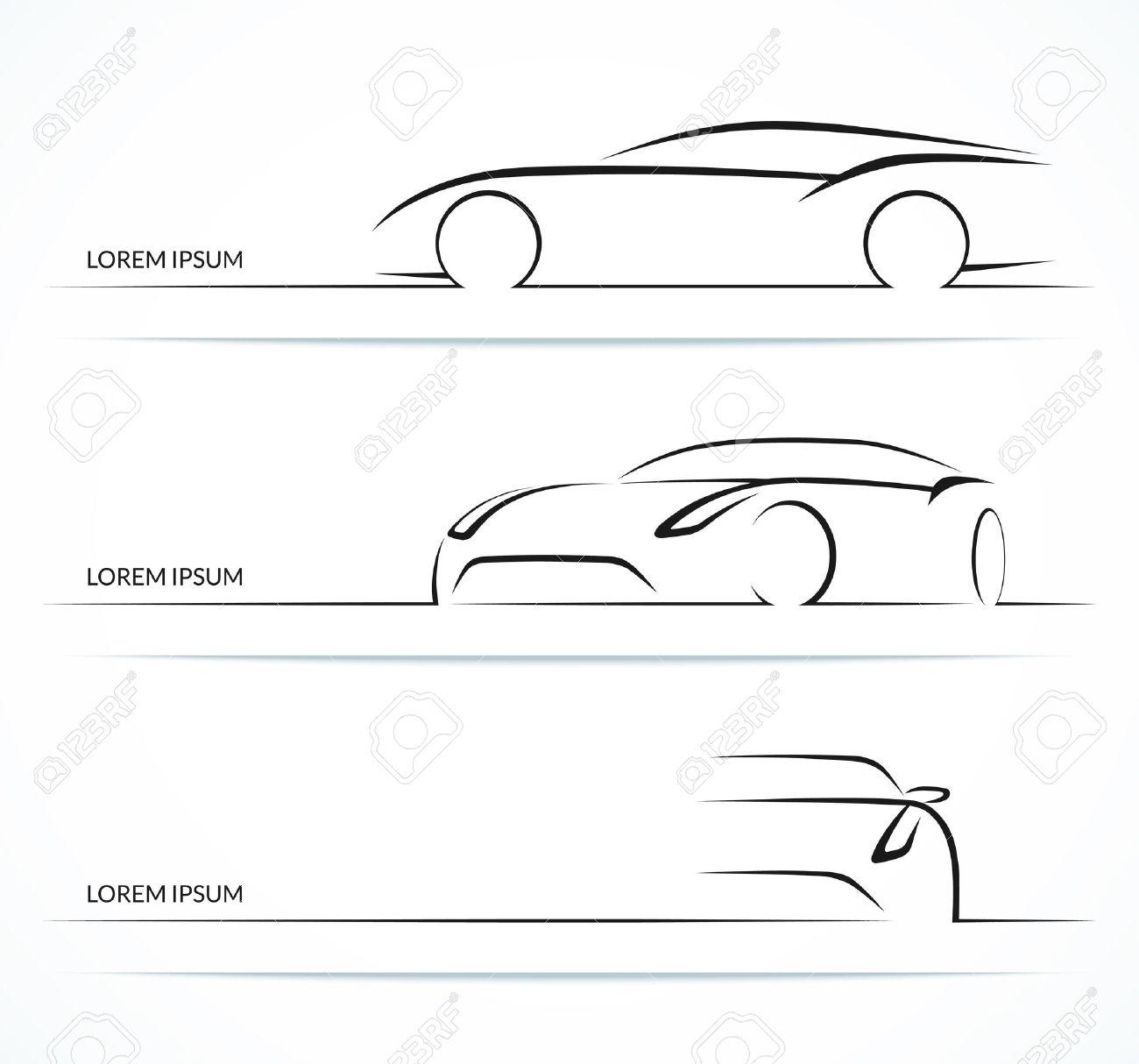 Ungewöhnlich Auto Skizziert Vorlagen Zeitgenössisch - Beispiel ...