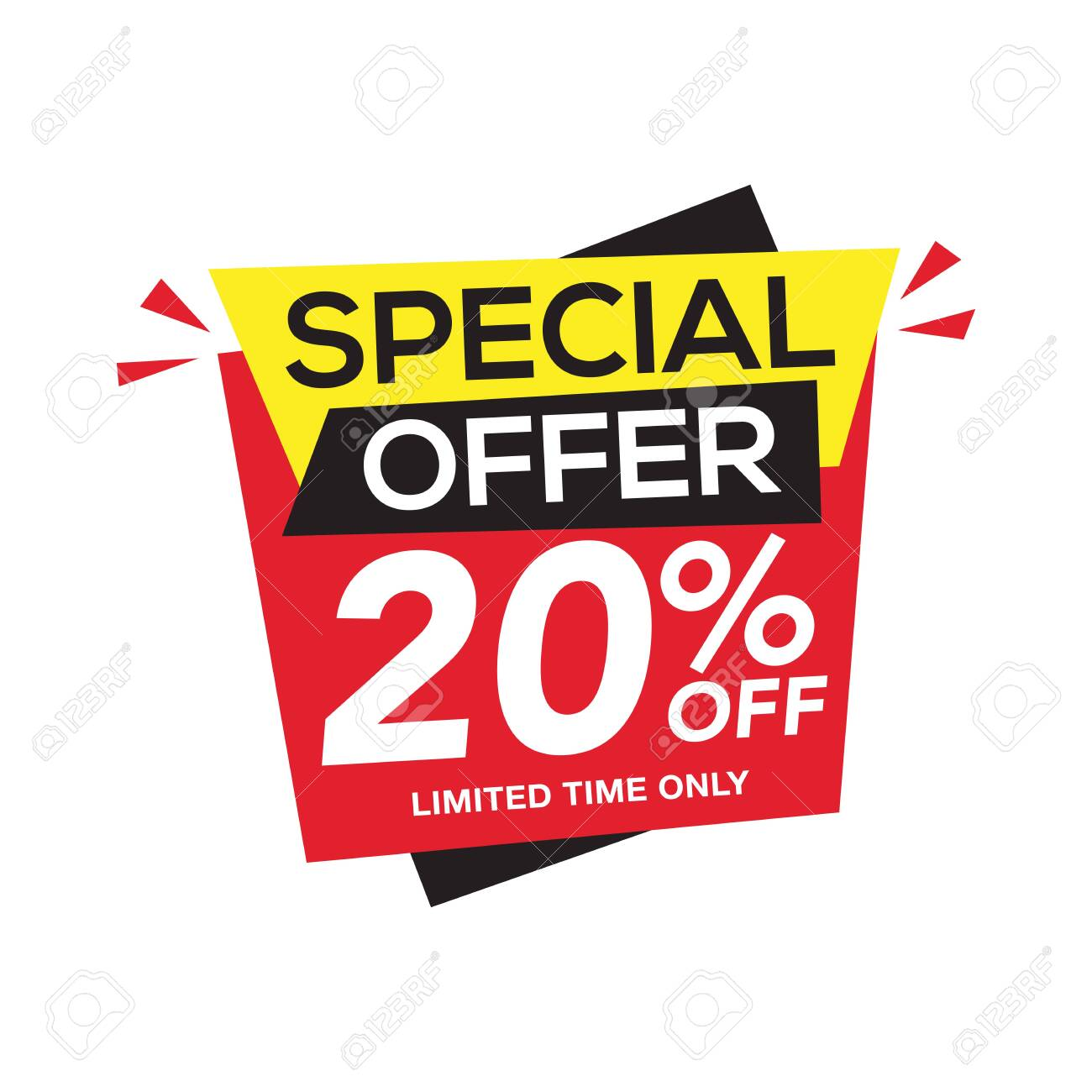 Sale and special offer tag, price tags, Sales Label, banner, Vector illustration. - 139020342
